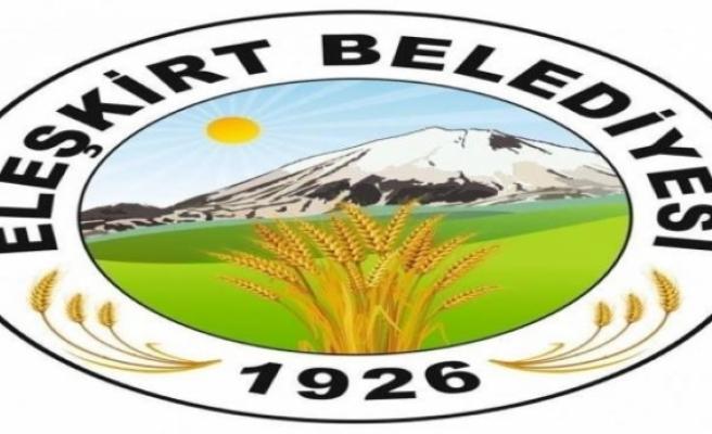 Eleşkirt Belediyesi tarafından Eleşkirt Belediyesine ait kesimhane malzeme ve ekipmanları ile kiraya verilecektir