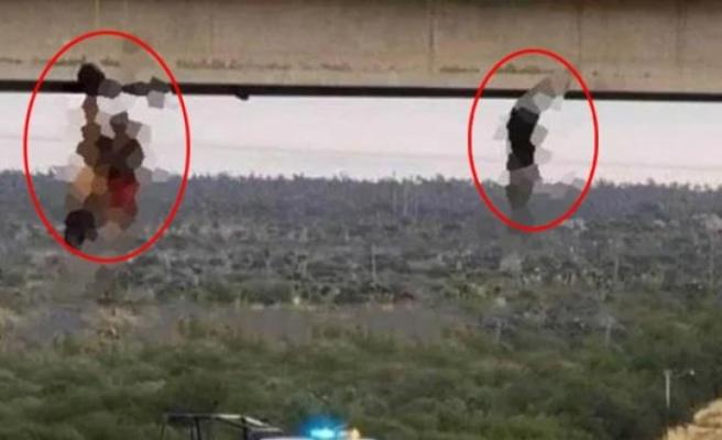Uyuşturucu satıcıları, öldürdükleri insanları çıplak şekilde köprüye astı