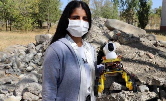 AĞRILI ÖĞRECİLERDEN BÜYÜK BAŞARI! ROBOT GELİŞTİRDİLER