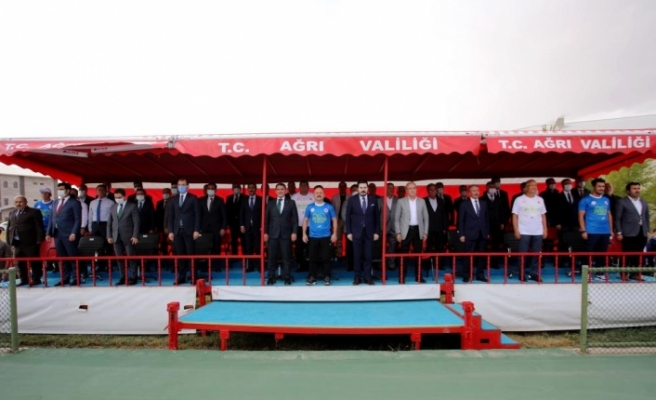 AİÇÜ, Ağrı Dağı Tenis Turnuvasına ev sahipliği yapıyor