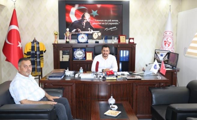 Başkan Aydın'dan Ağrı GSİM Çalgan'a Hayırlı Olsun Ziyareti