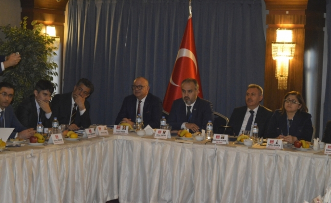 Ağrı'da Türkiye Belediyeler Birliği Encümenler Toplantısı