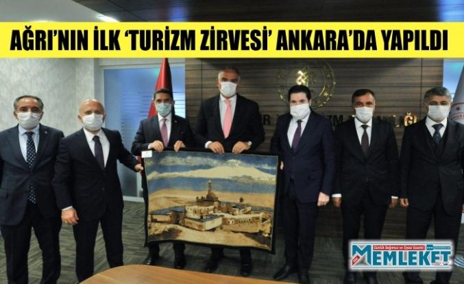 AĞRI'NIN İLK 'TURİZM ZİRVESİ' ANKARA'DA YAPILDI