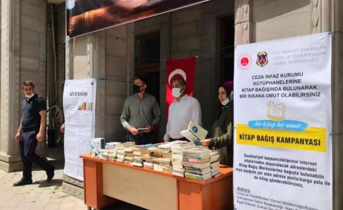Ağrı'da hükümlü ve tutuklular için kitap bağışı kampanyası başlatıldı