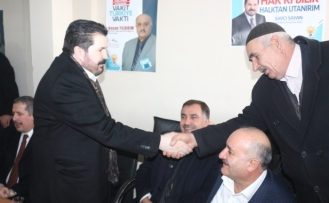 AK Parti Ağrı seçim irtibat bürosu açıldı