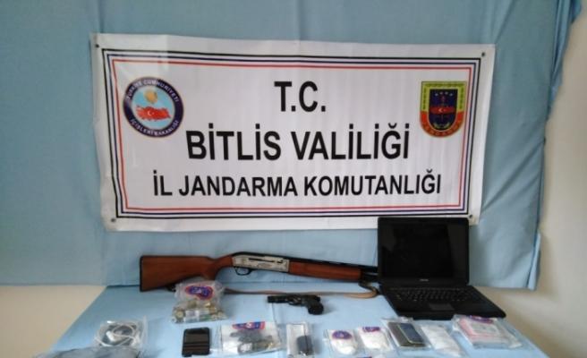 Bitlis merkezli uyuşturucu operasyonu