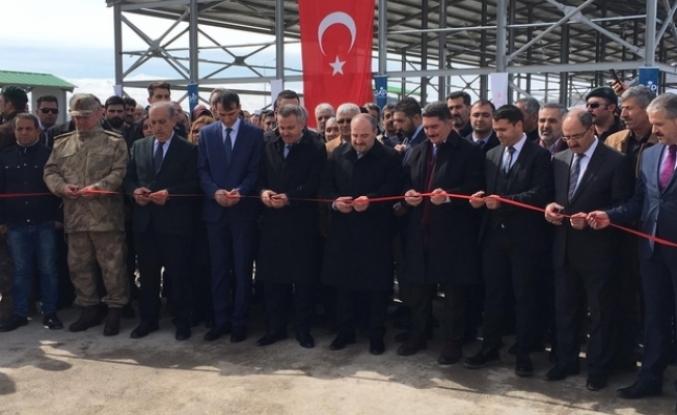 Sanayi Ve Teknoloji Bakanı Mustafa Varank Ağrı'da