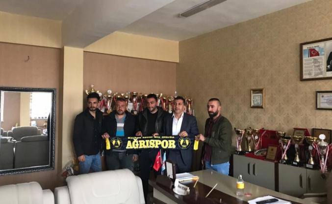 AĞRISPOR TARAFTAR GRUPLARINDAN MURAT DEMİR'E ZİYARET