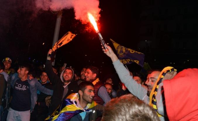 Ağrı Spor Kutlamaları Galatasaray'ı gölgede bıraktı!