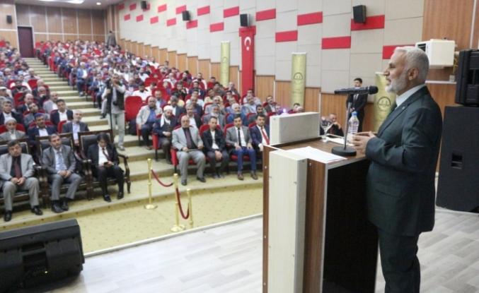 Ağrı Müftülüğünden 'Cami ve Hayat' konulu konferans