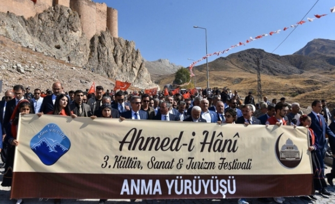 Ağrı'da 3. Ahmed-i Hani Kültür, Sanat ve Turizm Festivali