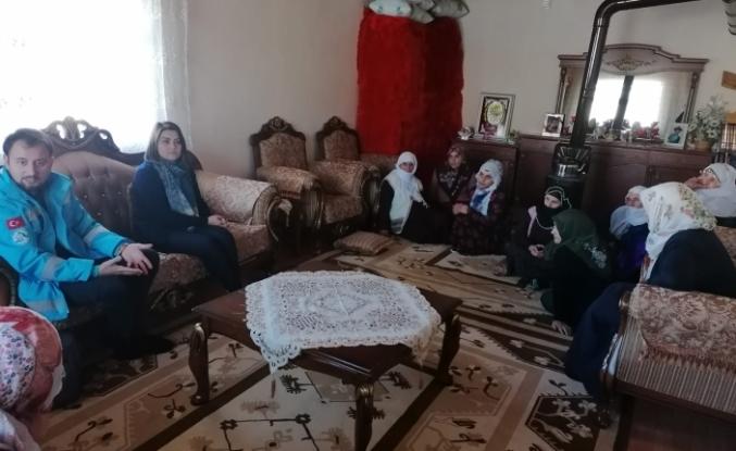 Hamur'da Kadınlarla Buluşuyoruz Etkinlikleri