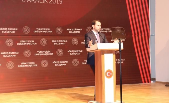 """Hazine ve Maliye Bakanı Albayrak: """"Ağrı gerçek belediyeciliğe kavuştu"""""""