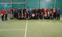 Kort Tenisinde Şampiyon Yine Spor Lisesi