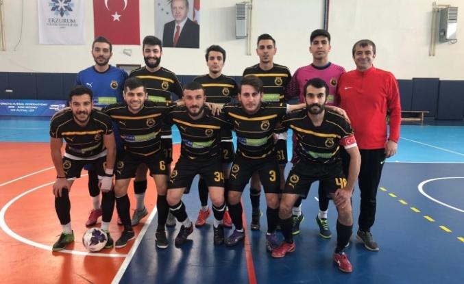 Ağrı Vefa Spor Futsal Süper Lige yükseldi