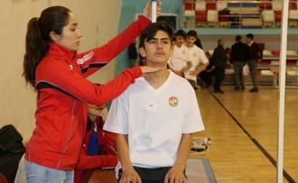 Ağrı'da atletizm sporcu seçme taraması yapıldı