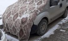 Soğuklara karşı kilimli önlem