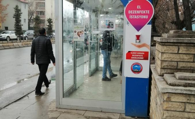 Ağrı Belediyesi Koronavirüs önlemleri