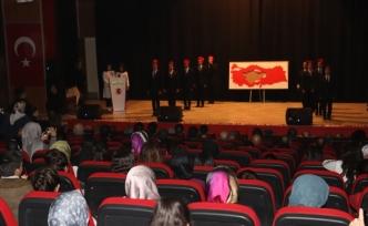 Ağrı'da İstiklal Marşı Kabulünün 99. Yılı Düzenlenen Programla Anıldı