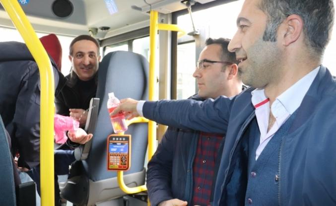 Halk Otobüslerinde Koronavirüs Önlemleri