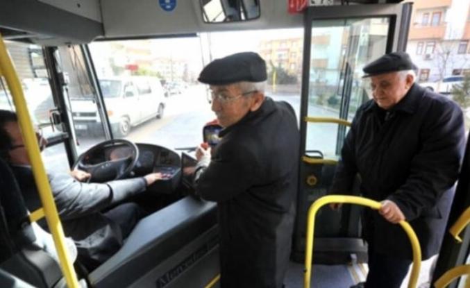 Konya'da 65 yaş üstü için ücretsiz seyahat askıya alındı
