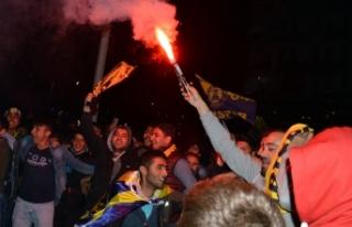 Ağrı Spor Kutlamaları Galatasaray'ı gölgede...