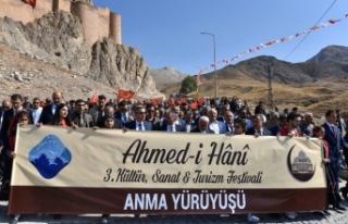 Ağrı'da 3. Ahmed-i Hani Kültür, Sanat ve Turizm...
