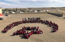 """Hamur'da 'Canlar Okuyor Fidanlar Hayat buluyor"""" Projesi"""