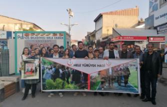 Patnos'ta Dünya Yürüyüş Günü Etkinliği