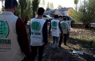 Umut Kervanı Ekim Ayında 100 aileye umut oldu