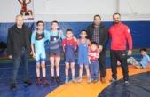 Aile boyu güreşçi olmak istiyorlar