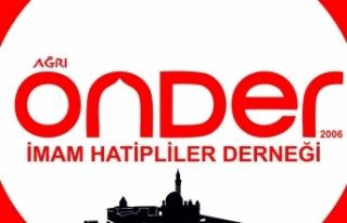 Ağrı Önder'den Diyanet İşleri Başkanı Erbaş'a...