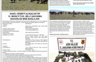 21 Mayıs 2020 Tarihli 12. MKNZ.P.TUG. Milli Savunma Bakanlığı Resmi İlanı